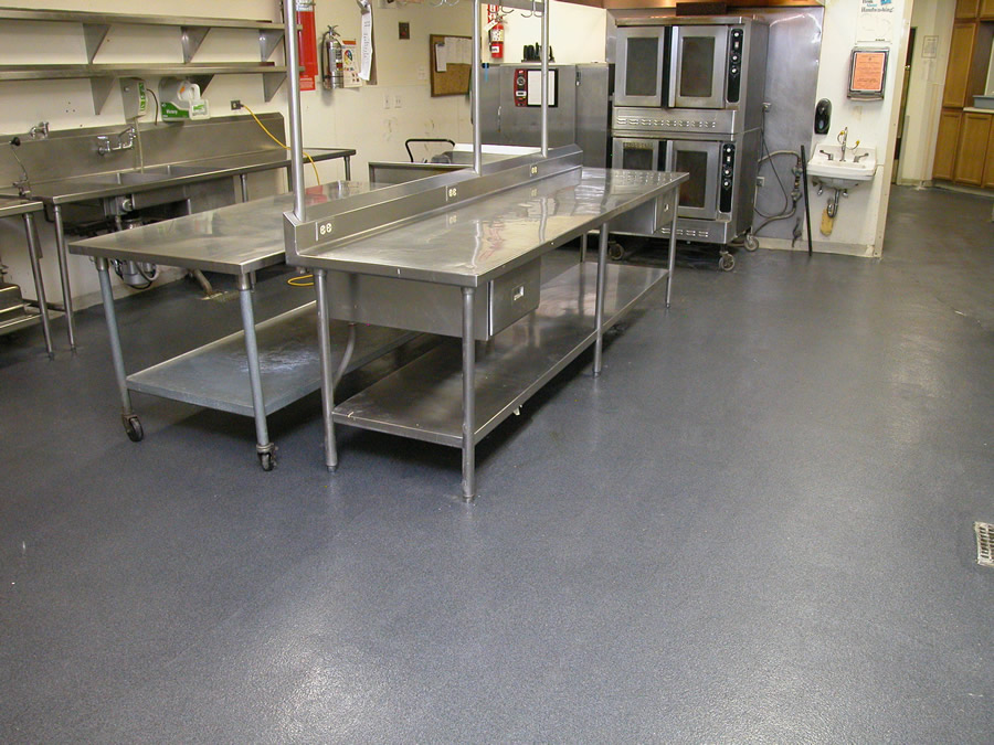Commercial Kitchen Flooring Western Concrete Coatings
