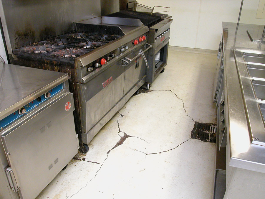 Sensational Commercial Kitchen Flooring Western Concrete Coatings Home Interior And Landscaping Synyenasavecom